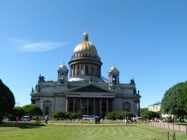 Saint Petersburg:  St. Isaac's Cathedral