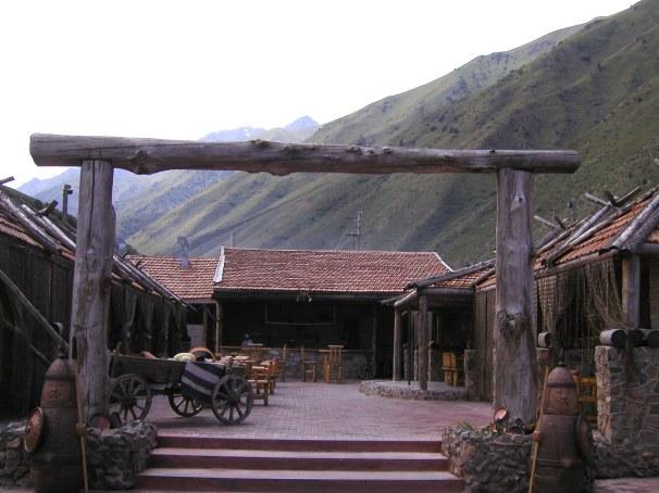 Kyrgystan:  Twelve Chimneys Restaurant