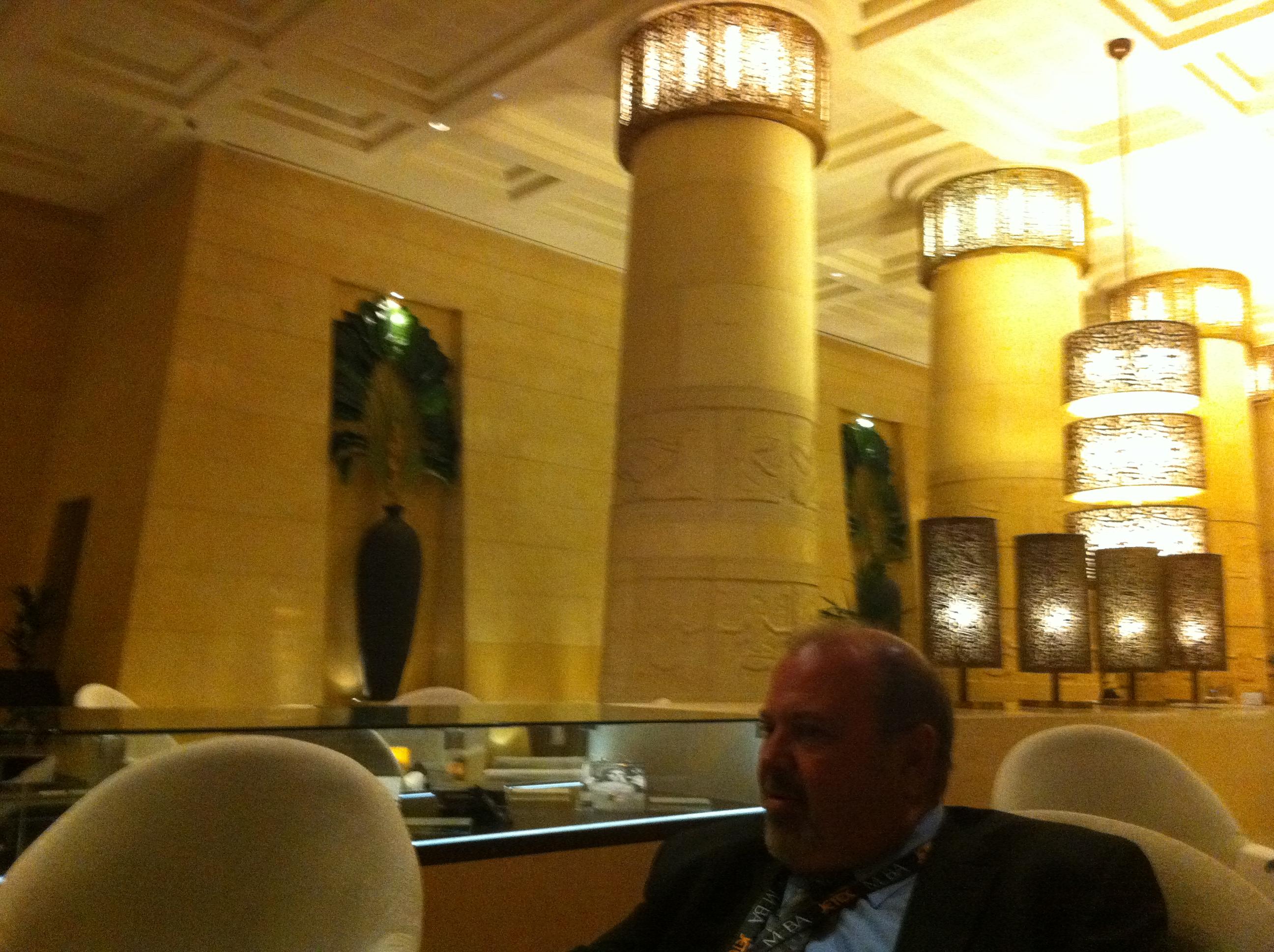Dubai:  Raffles Hotel