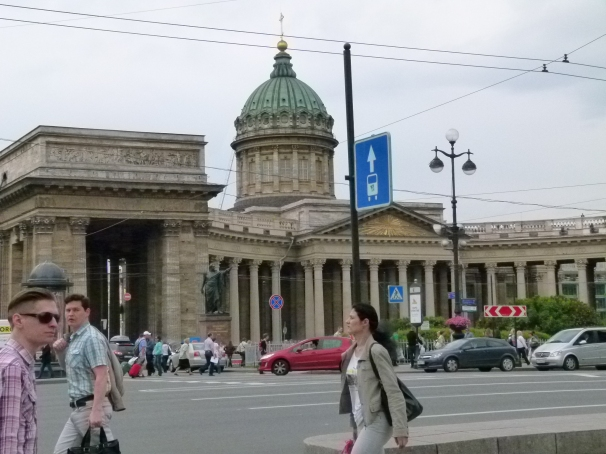 Saint Petersburg:  Kazan Cathedral