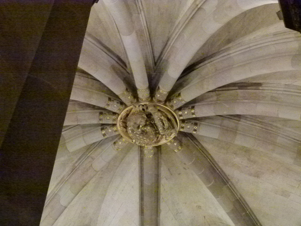 Medallion in the Center of the Crypt Dome