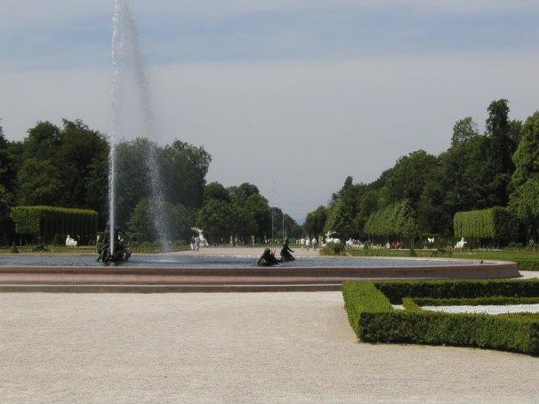 Schwitziger Schlossgarten